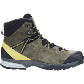 Lowa Ledro GTX Chaussures Homme, olive/mustard